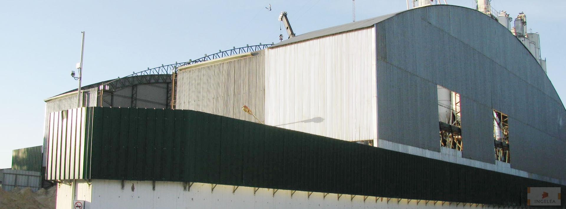 Ingelea construcci n de techos for Construccion de galpones